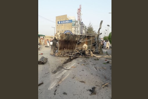 Two suicide bombers struck a Frontier Corps (FC) check post on the outskirts of Quetta.