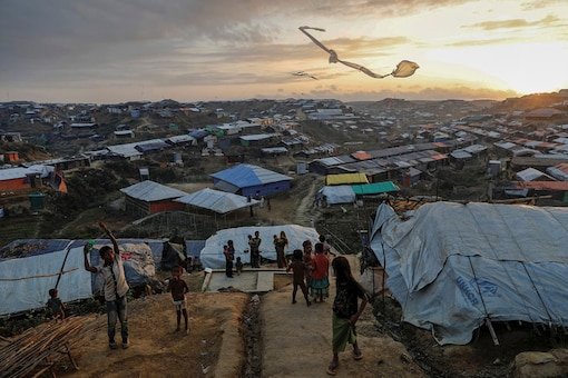File photo of Rohingya refugee children at a  refugee camp. (Representative Image: Reuters)