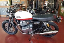 Royal Enfield Interceptor 650 and Continental GT 650 with New Colour Schemes Spotted at Dealership