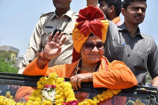 File photo of Bhopal MP  Pragya Singh Thakur.