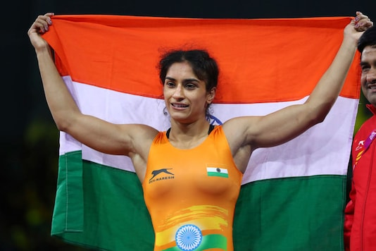 File photo of Vinesh Phogat (Photo Credit: AP)