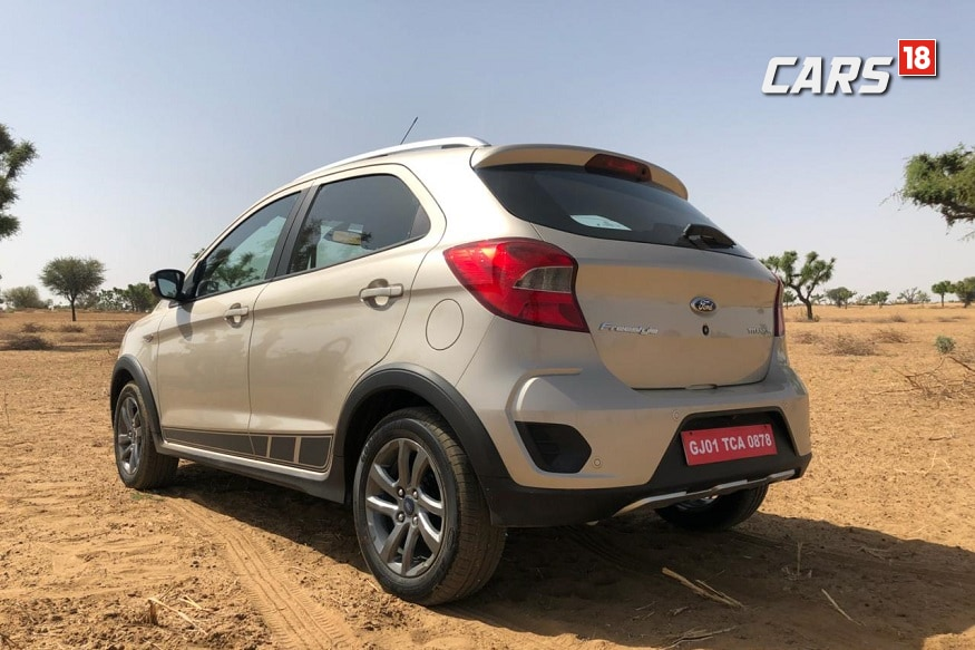 Ford Freestyle. (Image: Siddhartha Sharma/News18.com)