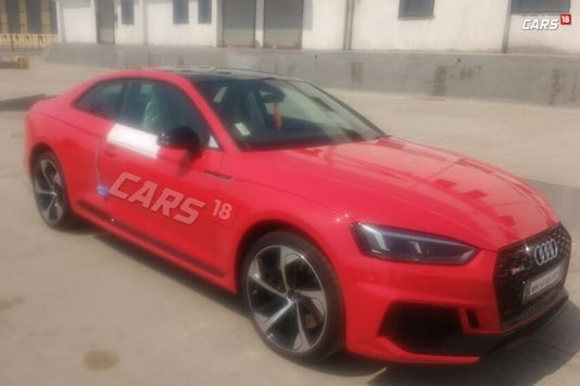 2018 Audi RS5 coupe spotted in India. (Image: News18.com)