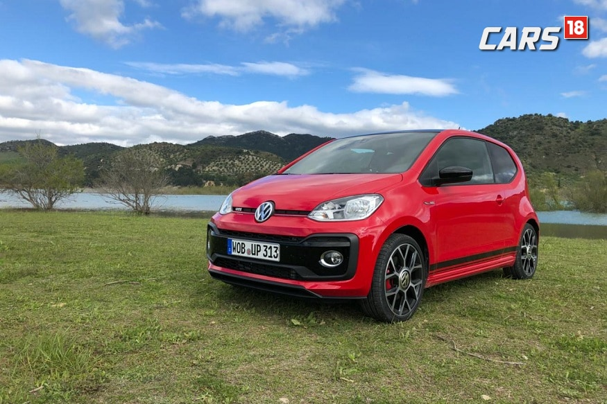 Volkswagen up! GTI. (Image: Siddhartha Sharma/News18.com)