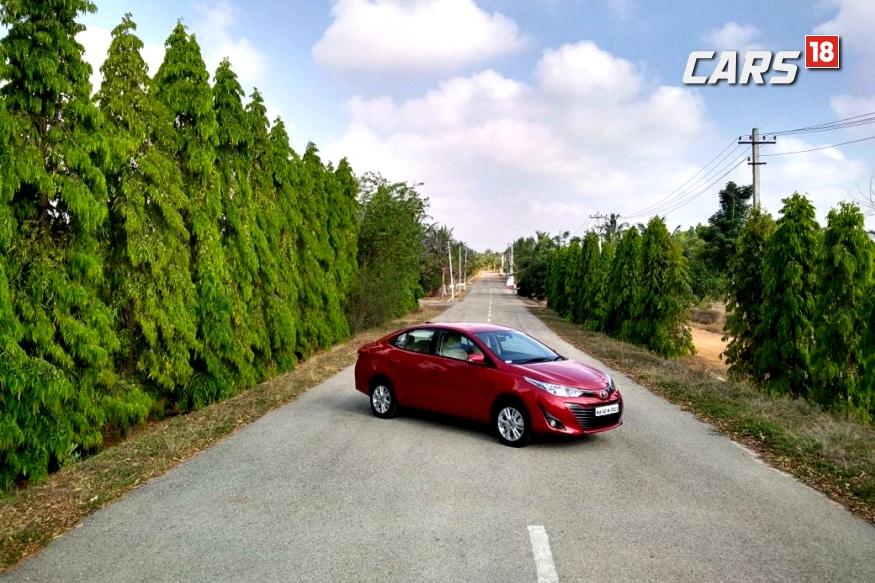 Toyota Yaris. (Image: Siddharth Safaya/News18.com)