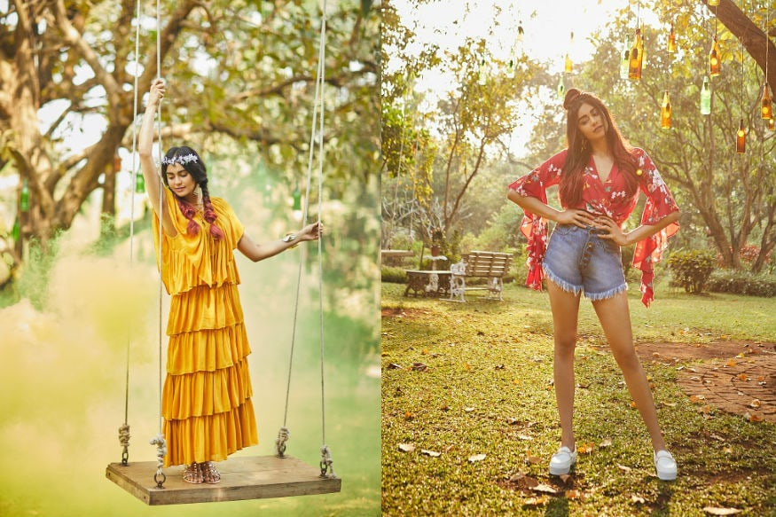 (Photo: Adah Sharma sporting outfits from Koovs Spring-Summer '18 collection)