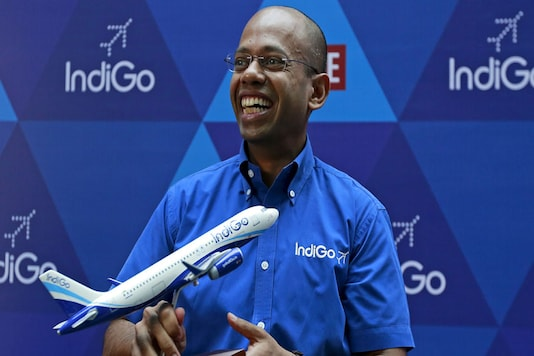 File photo of president of InterGlobe Aviation Limited Aditya Ghosh. (Reuters)