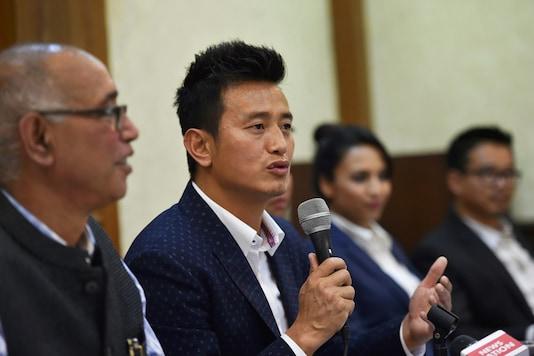 File photo of Bhaichung Bhutia.