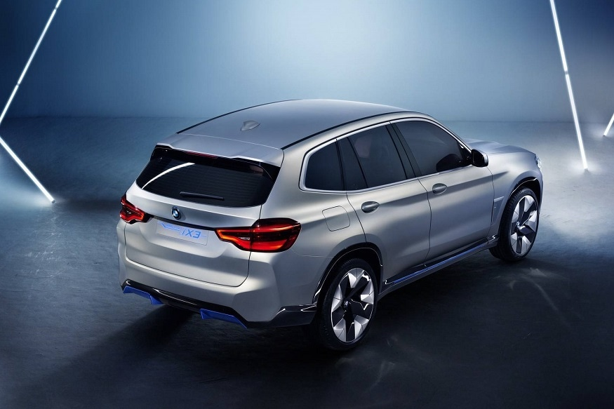 BMW iX3 Concept combines abilities of BMW xDrive with all-electric abilities of i-Series. (Image: BMW)