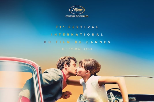 Official Cannes festival poster for 2018