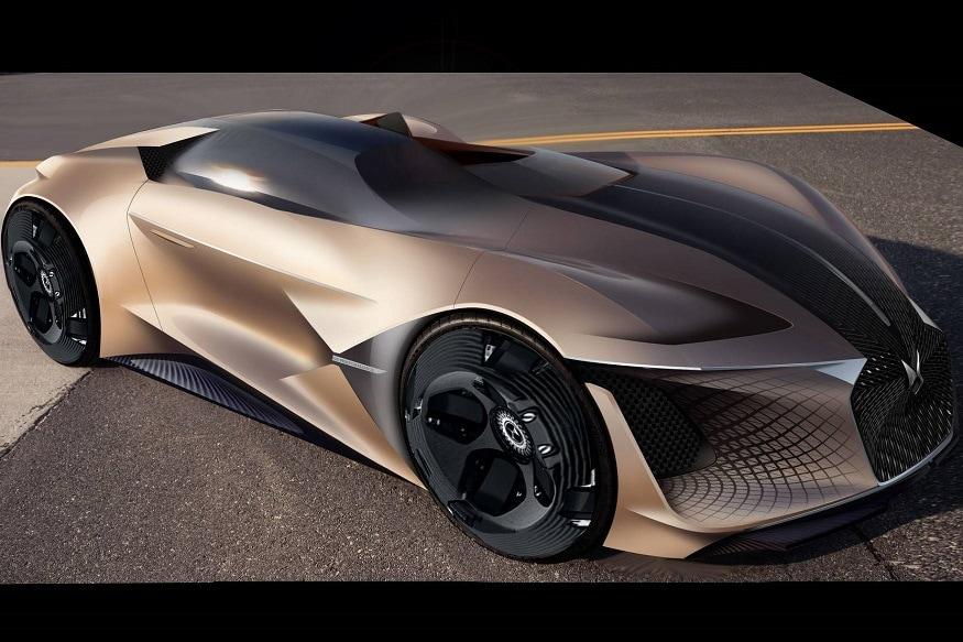DS X E-Tense previews car of 2035. (Image: DS Automobiles)