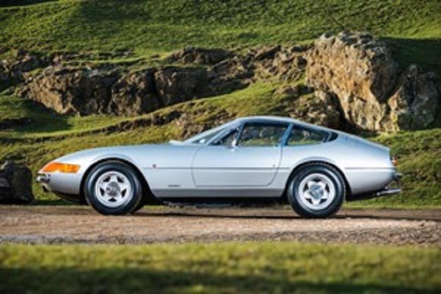 1972 Ferrari 365 GTB/4 Daytona. (Image: AFP Relaxnews)
