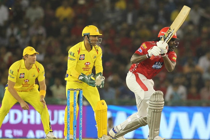 IPL 2018: Gayle Storm Overpowers Dhoni Show as KXIP Register Thrilling Win Over CSK
