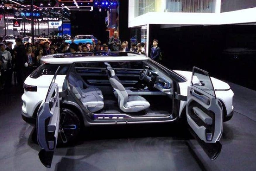 Geely Concept Icon SUV.  (Image: AFP Relaxnews)