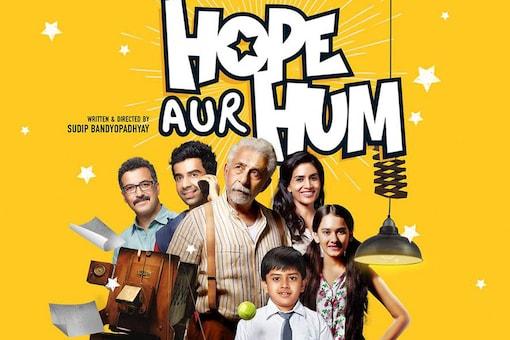 The poster of Hope Aur Hum.