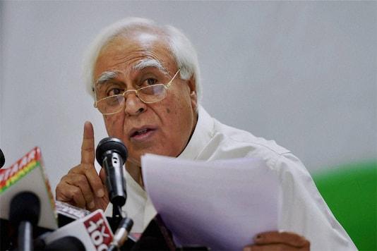 File photo of senior Congress leader Kapil SIbal. (PTI)
