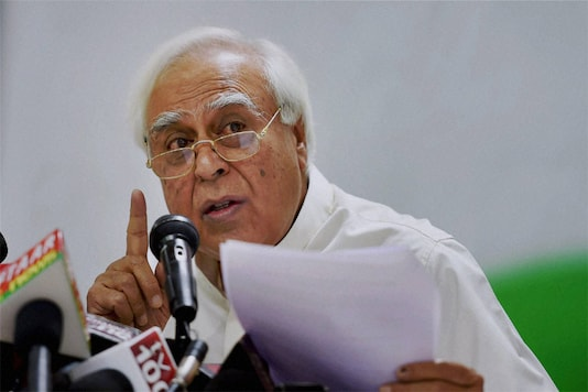 File photo of senior Congress leader Kapil SIbal. (PTI)
