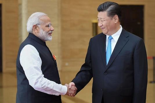 PM Narendra Modi with Chinese President Xi Jinping during their 'informal' April meeting in Wuhan. (PTI)