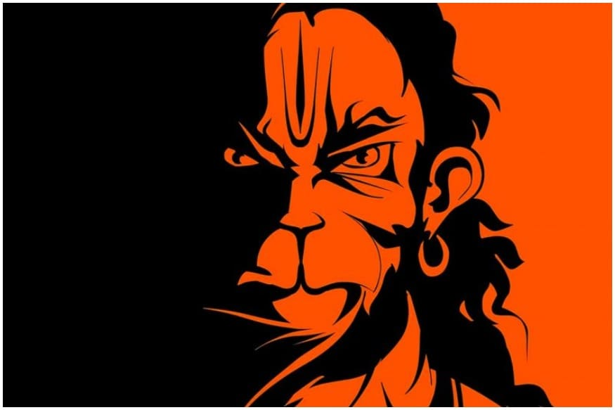 How A Kerala Artists Angry Hanuman Became A Rage On Indias Roads