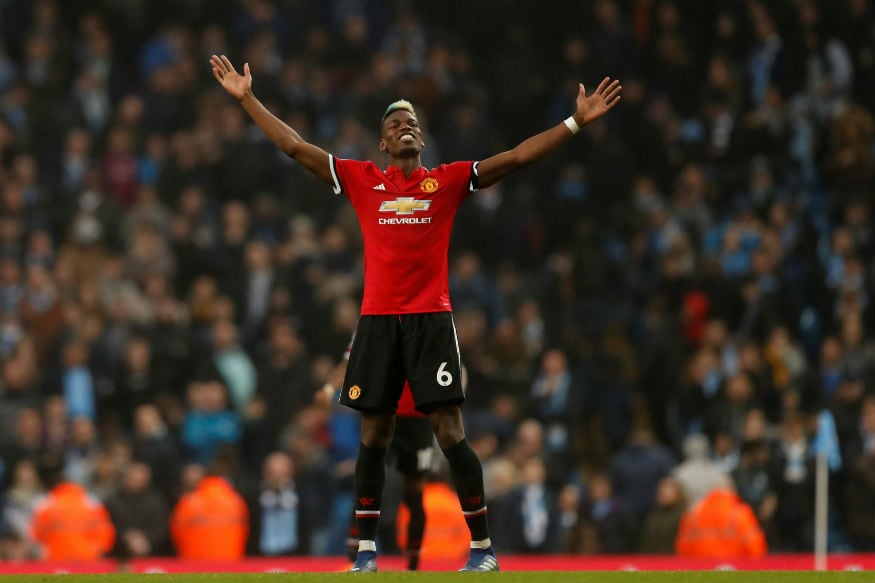 Pogba Leads Thrilling Man Utd Comeback to Keep City Waiting For Title