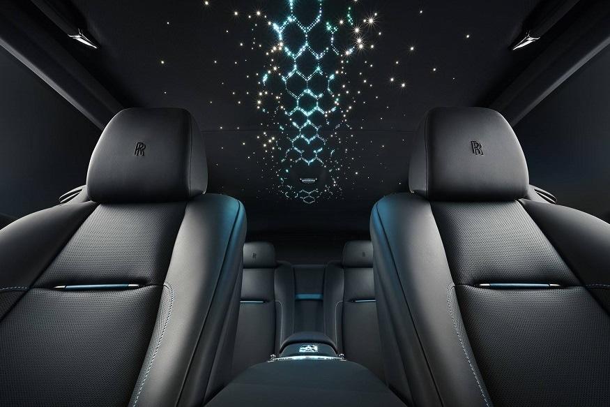 Rolls-Royce Adamas stargazed roofliner. (Image: Rolls-Royce)