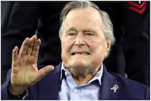 Former US President George HW Bush Admitted to Houston Hospital Days After Death of Wife Barbara