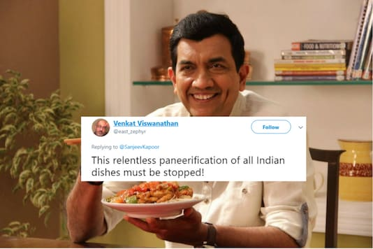 (Photo: Official Facebook account of Sanjeev Kapoor)