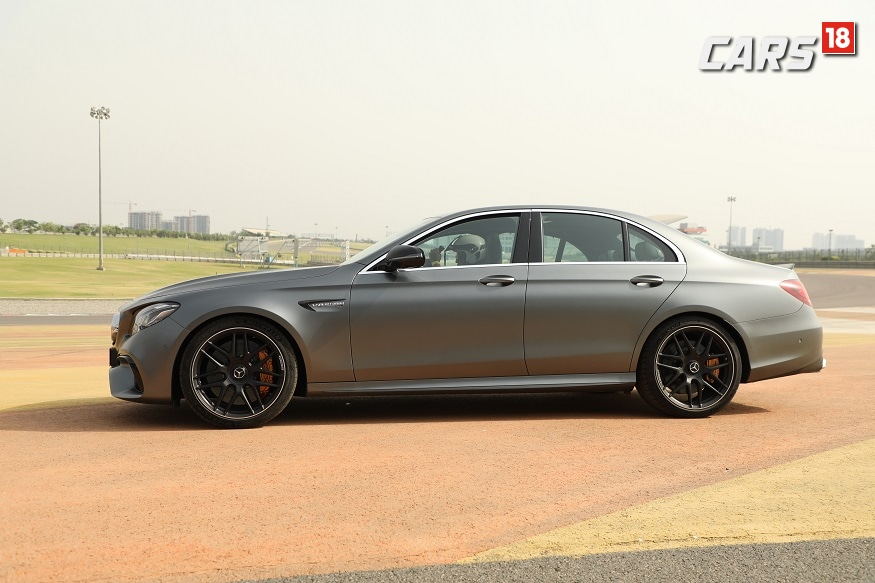 Mercedes-AMG E 63 S 4MATIC+. (Image: Siddharth Safaya/News18.com)