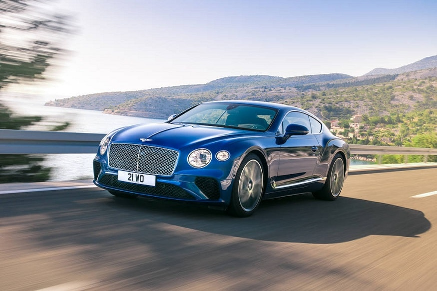 2019 Bentley Continental GT coupe. (Image: AFP Relaxnews)