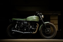 Hyderabad Based Customizer Gives Royal Enfield Classic 350 Old School Café RacerLook [Video]