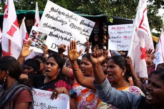 File photo of anti-Sterlite protests in Thoothukudi.