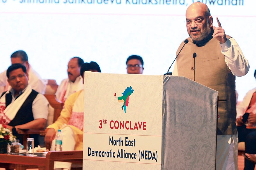 BJP Ending Corrupt 'Briefcase Politics', Amit Shah to North East Allies