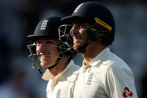 Jos Buttler and Dominic Bess. (Reuters)