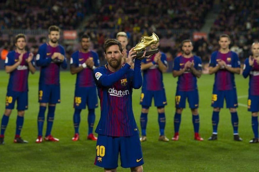 Lionel Messi Wins Fifth European Golden Shoe