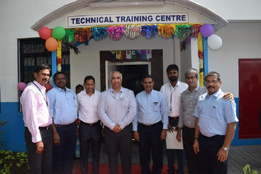 Ford India Executives at the inauguration of the Technical Training Centre in Chennai. (Image: Ford)