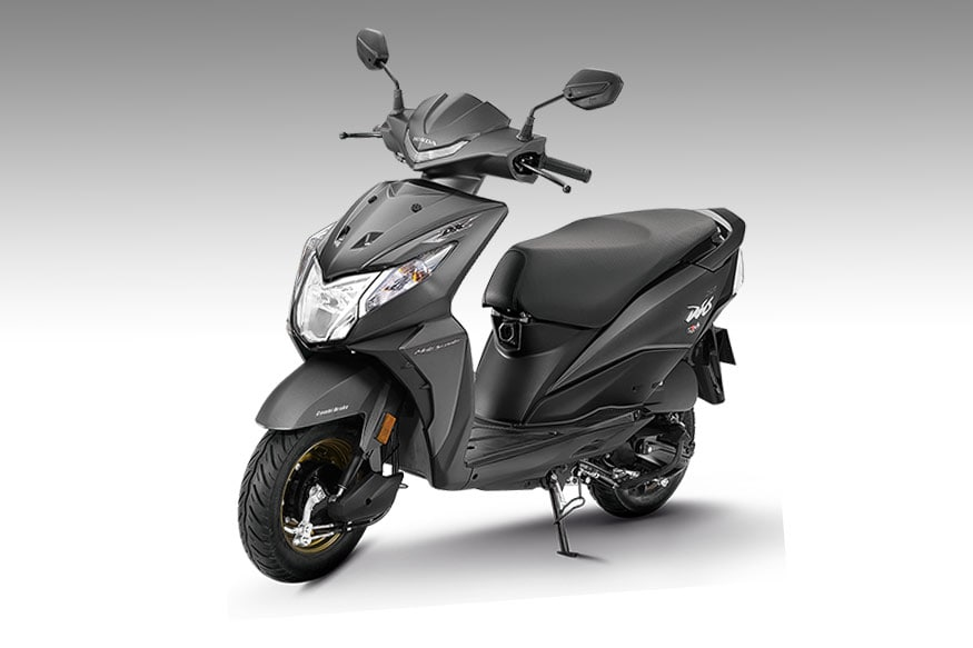 2018 Honda Dio Deluxe Launched In India At Rs 53 292 Gets Led