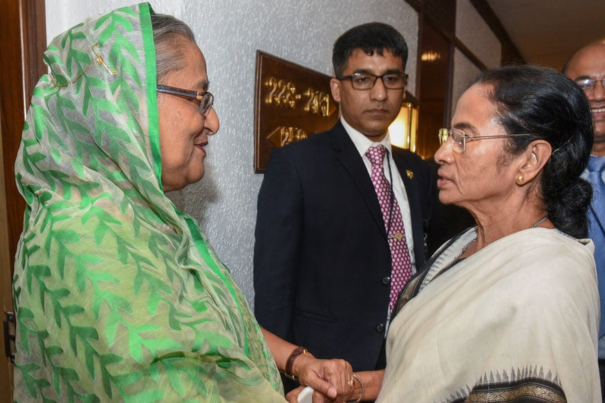 Meeting Mamata & Shah on Sidelines of Day-Night Test, Bangladesh PM May Discuss Teesta, NRC Issues
