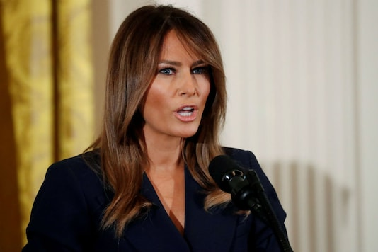 File photo of US First Lady Melania Trump. (Image: Reuters)