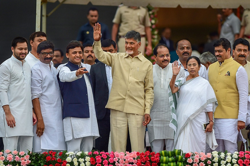 Mamata Banerjee, Chandrababu Naidu Pitch for All Regional Parties to Come