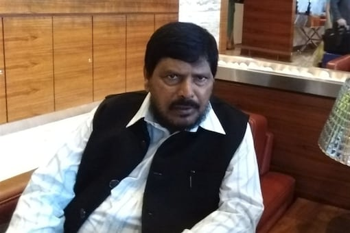 Union Minister of State for Social Justice and Empowerment, Ramdas Athawale. (Twitter)