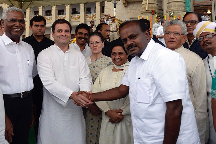 Congress-JD(S) Will Fight 2019 Elections Together, Says Kumaraswamy, Predicts Major Political