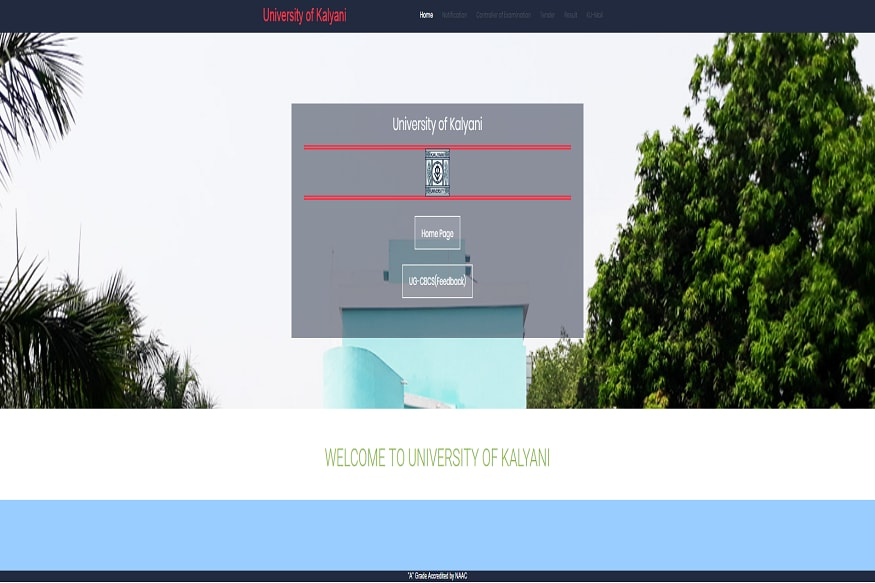 Kalyani University UG Part 3 Result 2018 Declared For BA/B Com/BSc