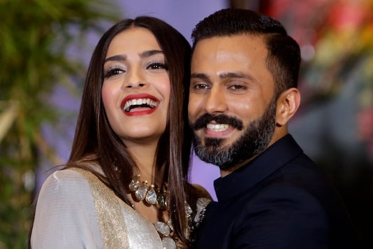 File photo of Sonam And Anand Ahuja.(Image: AP)