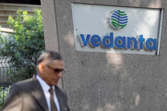File photo of Vedanta logo (Image : Reuters)
