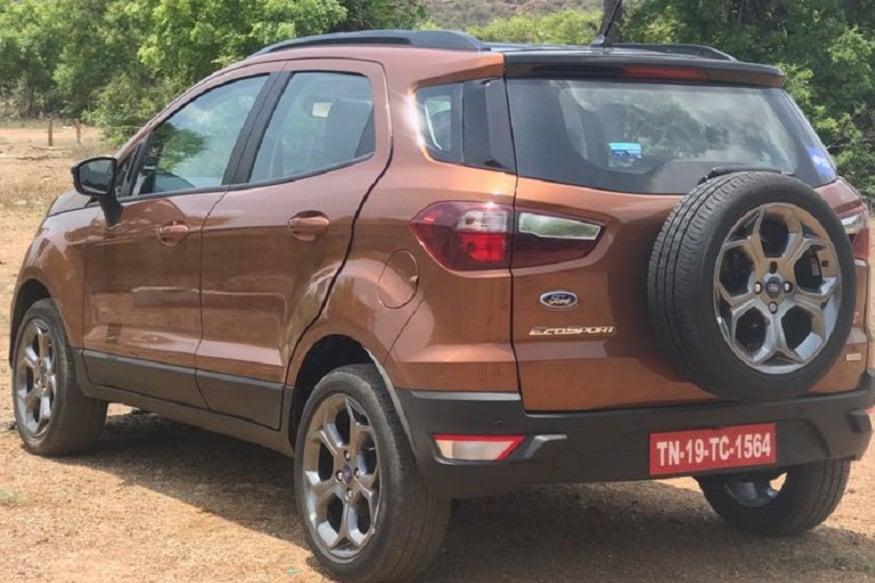 Ford EcoSport S. (Image: Siddharth Safaya/News18.com)