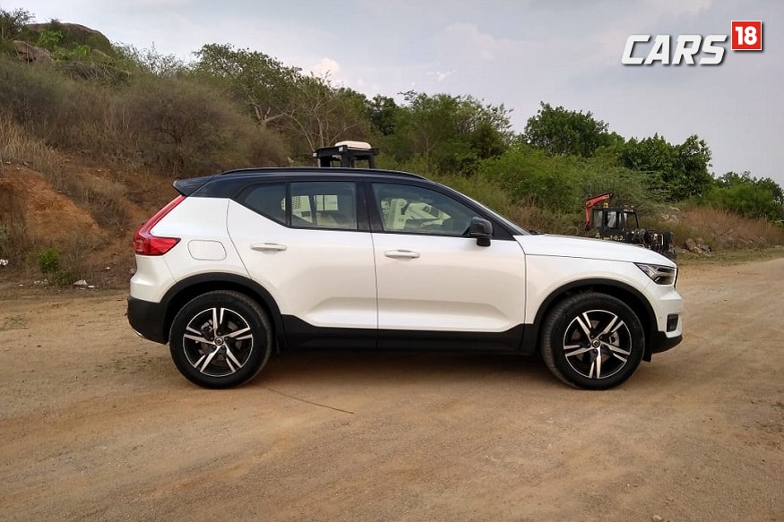 Volvo XC40 is offered with Radar based active safety system. (Image: Arjit Garg/News18.com)