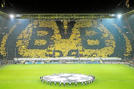 File image of the much famed Borussia Dortmund Yellow Wall. (Getty Image)