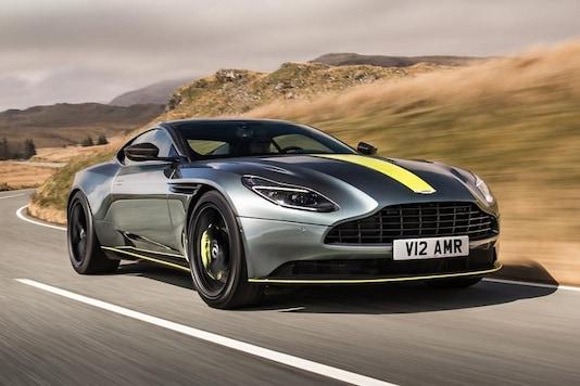 New Aston Martin DB11 AMR. (Image: AFP Relaxnews)