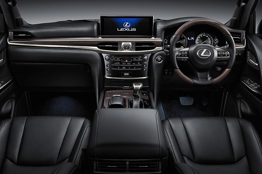 Lexus LX 570 cabin. (Image: Lexus)