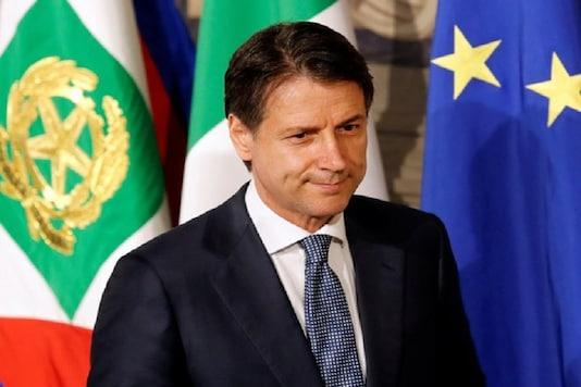 File photo of Italian PM Giuseppe Conte (Image : Reuters).
